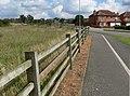 Cycle path along Outlands Drive, Hinckley - geograph.org.uk - 961773.jpg