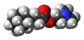 Cyprodenate molecule spacefill.png
