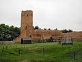 Czersk, ruiny zamku, XIII, kon. XIV,.JPG