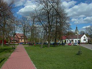 Settlement in Masovian, Poland