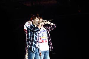 Super Junior-D&E - Image: D&E Present in Hong Kong