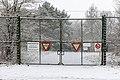 Dülmen, Kirchspiel, ehem. Munitionslager Visbeck, Tor -- 2021 -- 4464.jpg