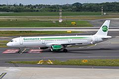 Airbus A321 linii Germania