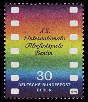20th Berlin International Film Festival - Festival poster