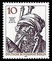 DBPB 1971 390 Albrecht Dürer Kupferstich Dudelsackpfeifer.jpg
