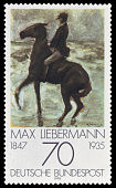 DBP 1978 987 Max Liebermann - Reiter nach links am Strand.jpg