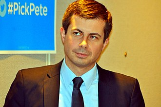 Pete Buttigieg - Buttigieg at a 2017 Democratic National Convention event.