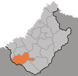 Songwon County County in Chagang Province, North Korea