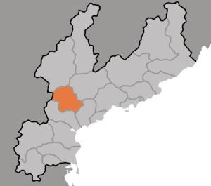 Yonggwang County - Image: DPRK2006 Hamnam Yonggwang