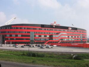 AZ Alkmaar - AFAS Stadion, AZ's home venue in Alkmaar