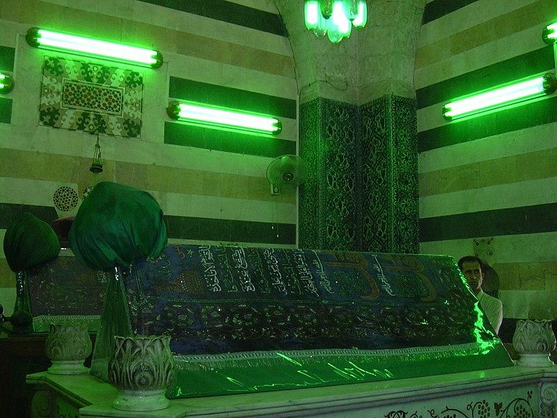 File:Damaskus, Saladin Mausoleum, 1193 (38651208756).jpg