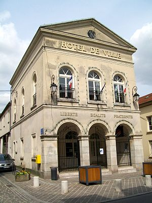 Dammartin-en-Goële - The town hall of Dammartin-en-Goële