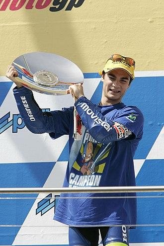 2005 Grand Prix motorcycle racing season - Image: Dani Pedrosa 2005 Philip Island