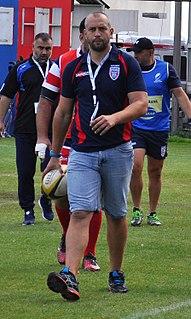 Dănuț Dumbravă Romanian rugby union footballer and coach