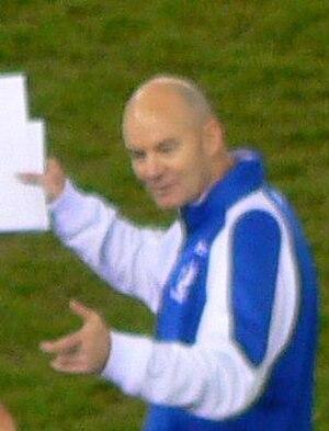 Darren Crocker - Crocker in 2007 as an assistant coach