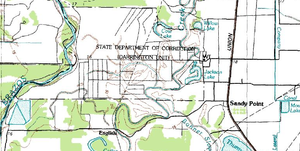 Darrington Unit - Topographic map, U.S. Geological Survey - July 1, 1984