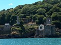 Dartmouth Castle site and St Petroc's church - geograph.org.uk - 1966892.jpg