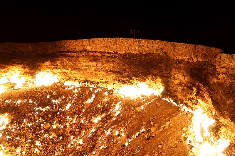 File:Darvaza Gas Crater (42435082502).jpg