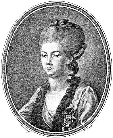 Е. Р. Дашкова, 1777