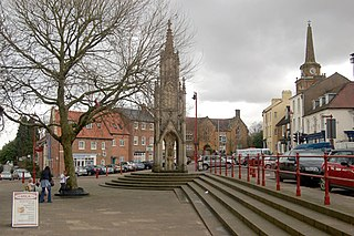 Daventry market town in Northamptonshire, England