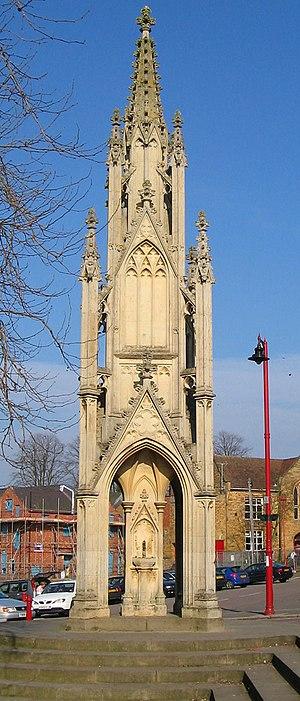 Daventry - Daventry's Burton Memorial