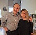 David Feldman and Elayne Boosler on his podcast.jpg