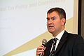 David Gauke -speaking at the Japan Tax Association, Japan-14Nov2013.jpg