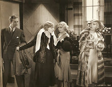 David Manners, Madge Evans, Joan Blondell, Ina Claire.jpg