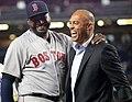 David Ortiz with Mariano Rivera at Yankee Stadium 9-29-16.jpeg