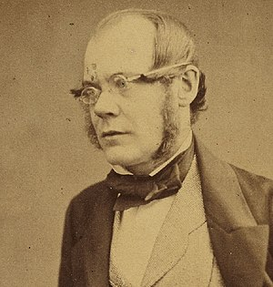 Ansted, West Virginia - Dr. David T. Ansted, British scientist and geologist (1814-1880)