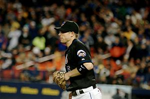 Third baseman - Image: David Wright 2007 05 18