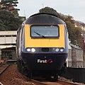 Dawlish - fGWR 43168 down Royal Duchy.JPG
