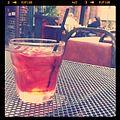 Day drinking, negroni style. (5701514988).jpg