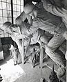 De Weldon and sculpture, circa 1954 (7301626550).jpg