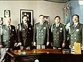 De izq a derecha Comandante Garcia Espino, Antonio Garza Garcia, Arizpe Mireles, Jimenez Martines y Romero Romero.jpg
