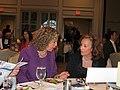Debbie Wasserman Schultz speaking with Allison Tant Richard.jpg