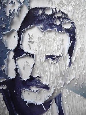 Freddie Mercury Decaying Photo