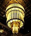 Deco chandelier New Yorker Hotel (3540129798).jpg