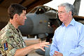 Defence Secretary Michael Fallon meets the Commanding Officer of 904 Expeditionary Air Wing.jpg