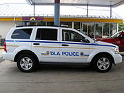 Defense Logistics Agency Police Vehicle