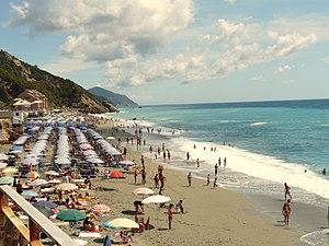 Deiva Marina - Deiva Marina seashore in summer