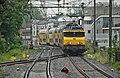 Delft DDM1 met NS 1858 als trein 5130 Dordrecht-Den Haag Centraal bocht (24743449053).jpg