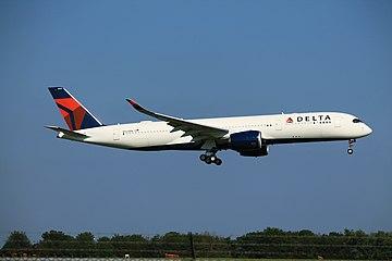 Delta N502DN- Airbus A350-900 (37010753515).jpg