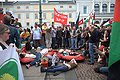 Demonstration against the Israeli attack on ship to Gaza May 31st 2010 (5).jpg