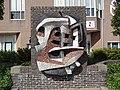 Den Helder - Reliëf voor de Openbare Bibliotheek op het Bernhardplein.jpg
