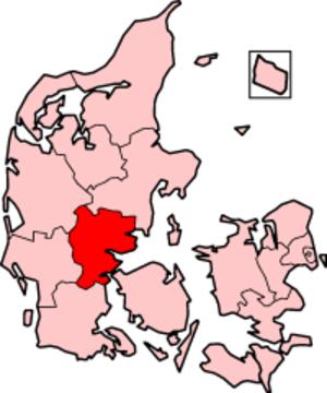 Vejle County - Vejle County in Denmark