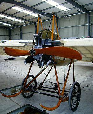 Société pour l'aviation et ses dérivés - The United Kingdom's second oldest flying aircraft, an original 1911 Deperdussin monoplane in the Shuttleworth Collection
