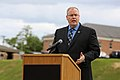 Deputy Defense Secretary Bob Work delivers remarks to U.S. and British athletes, family members and other attendees at the closing ceremony of the 2015 Department of Defense Warrior Games on Marine Corps Base Q 150628-A-XY211-138A.jpg