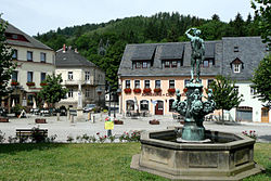 Der Marktplatz von Bad Gottleuba (The market place of Bad Gottleuba) - geograph.org.uk - 7784.jpg