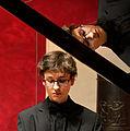 Der junge Pianist Evgeni Petrichev bei seinem Konzert im Roten Saal des Deutschordensschlosses Bad Mergentheim. 05.jpg